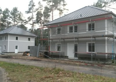 Neubau von 2 Stadtvillen in Fichtenwalde