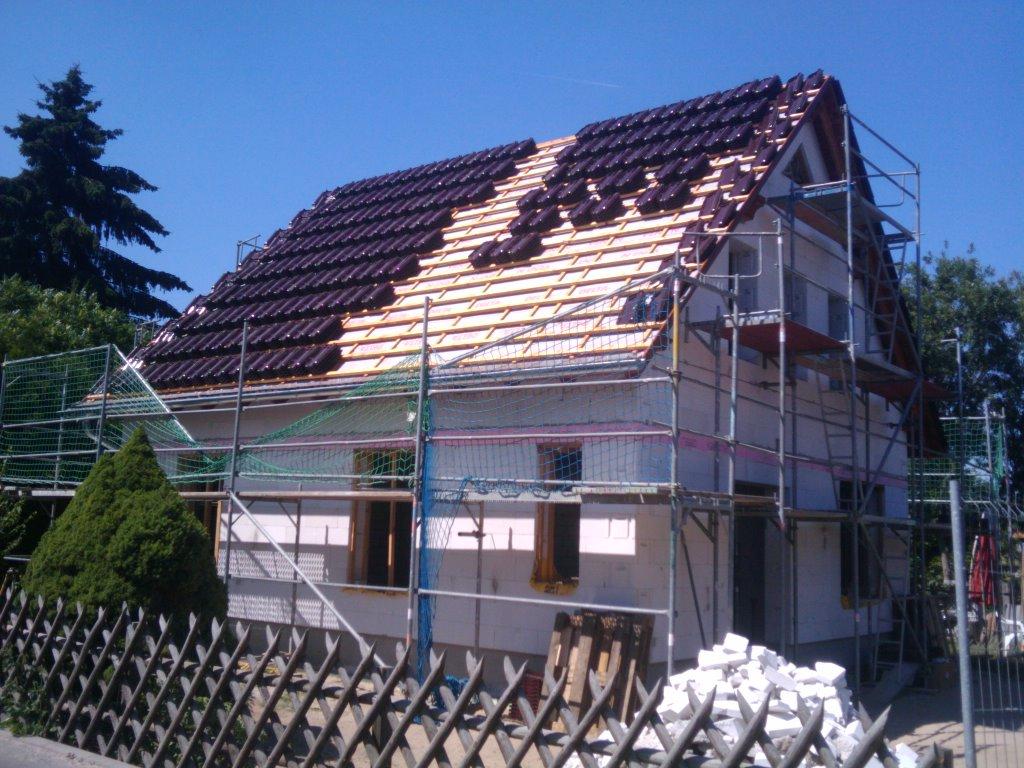 57.Dachziegelverlegung