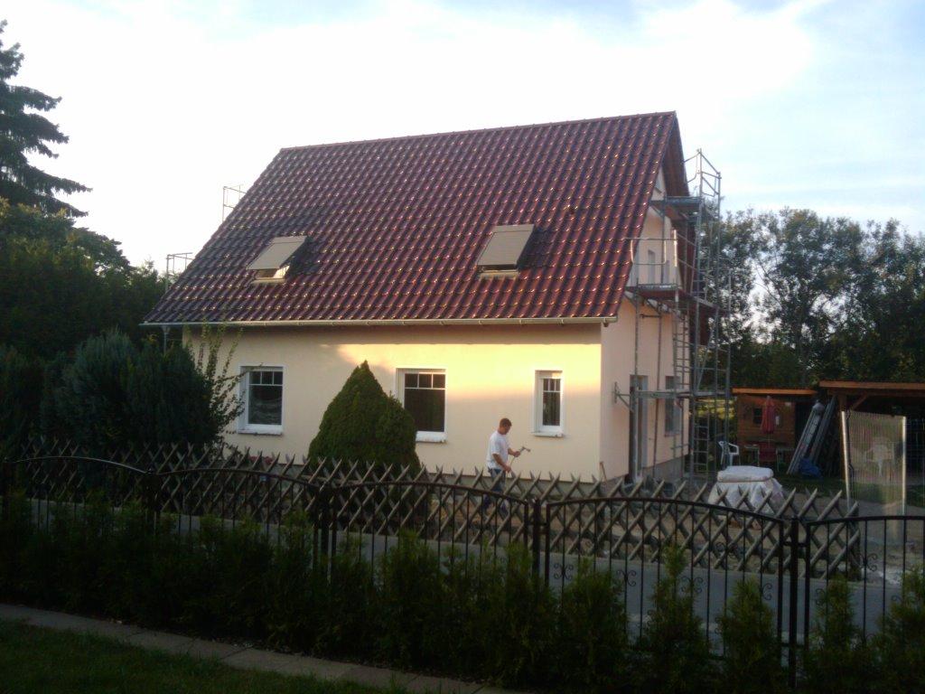 Neubau eines Einfamilienhauses in Beelitz