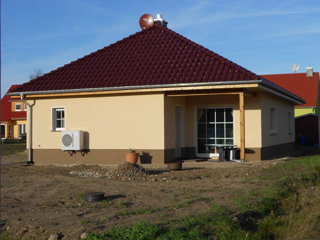 Neubau eines Bungalows in Beelitz 2013